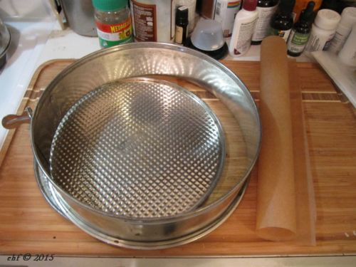 10-inch springform pan prep